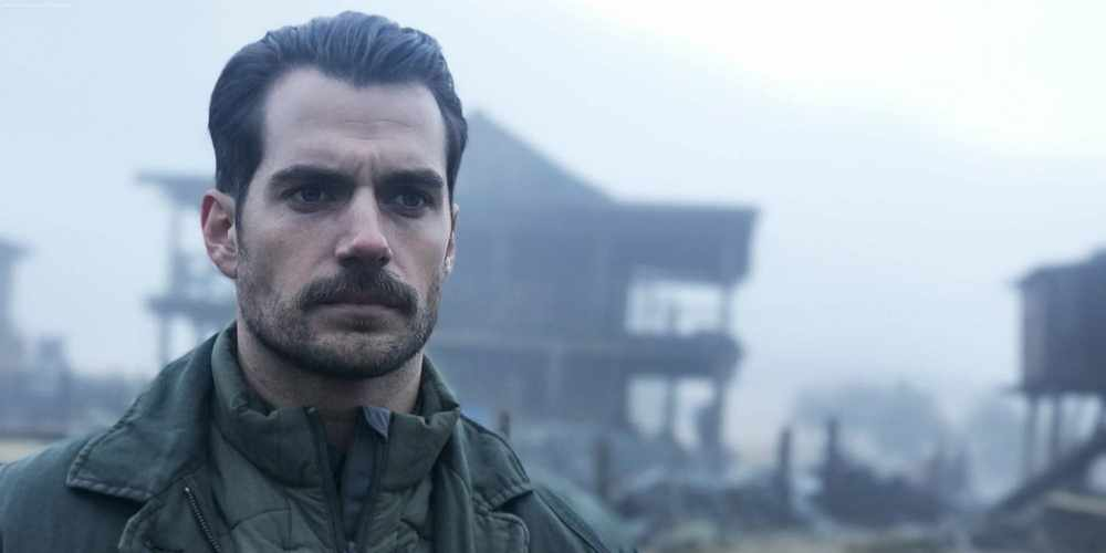 Henry Cavill in Mission Impossible