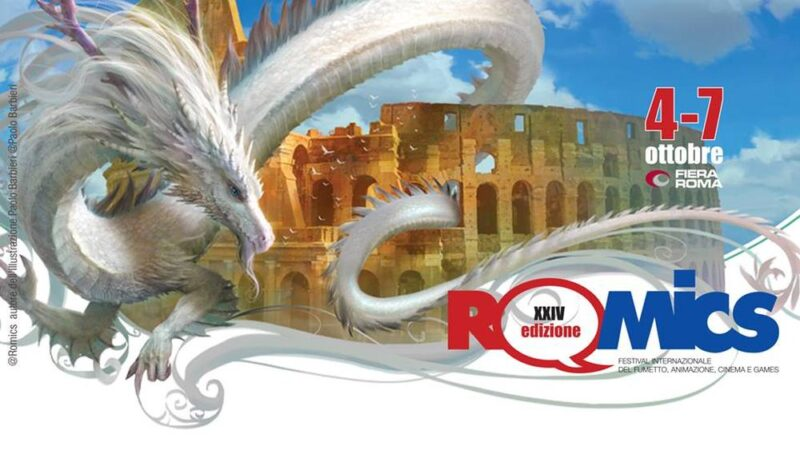 Il Dragone sul Colosseo