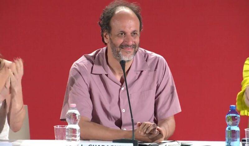 Luca Guadagnino durante la conferenza di Suspiria