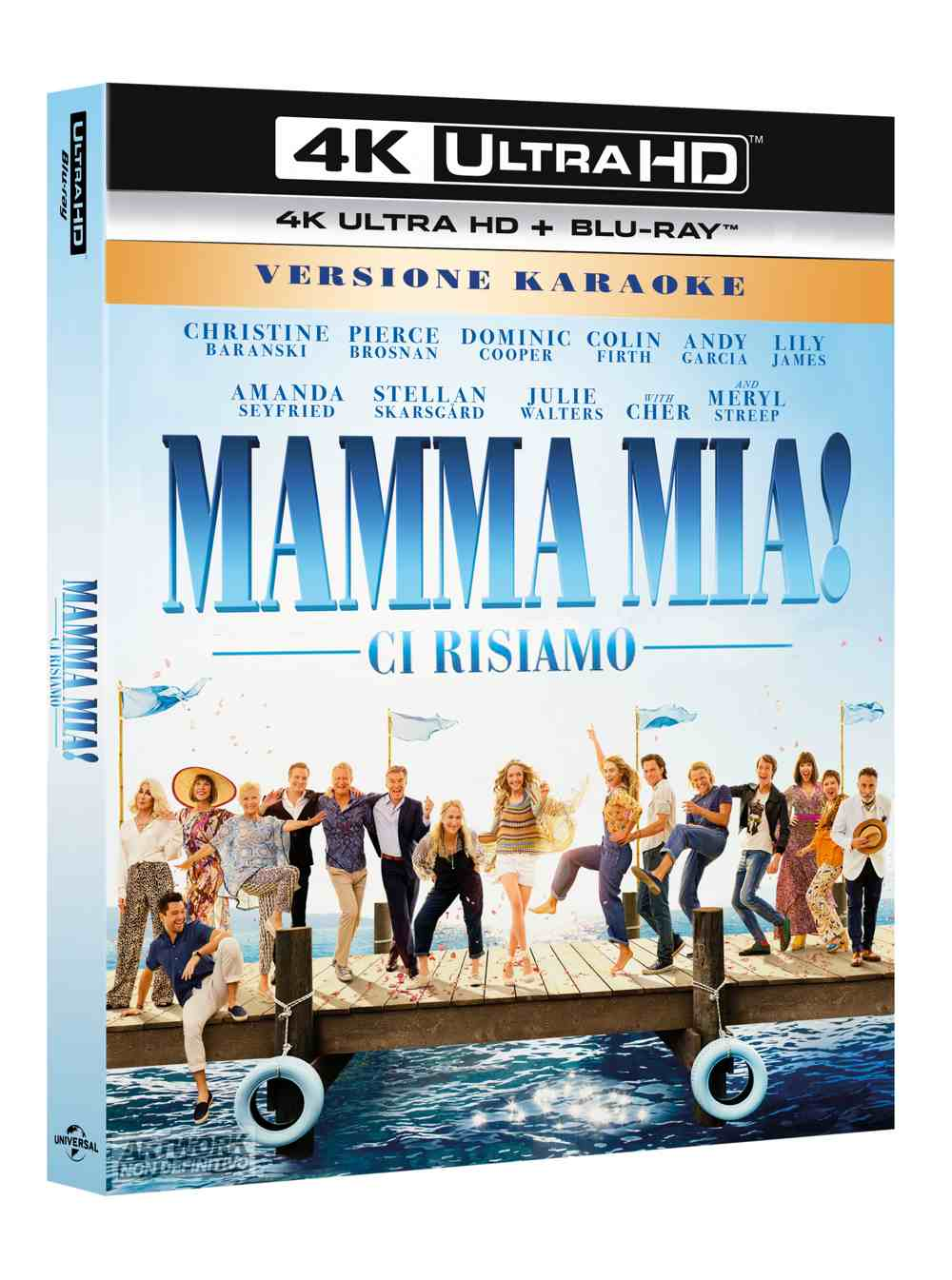 Mamma mia! Ci risiamo Home Video