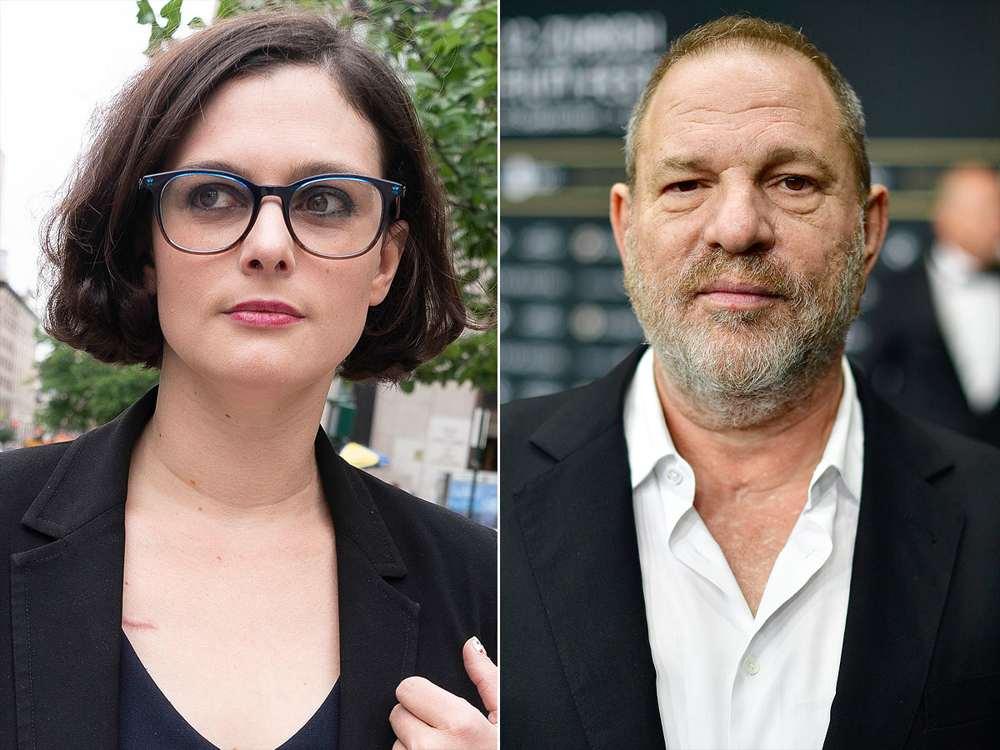 Melissa Thompson e Harvey Weinstein