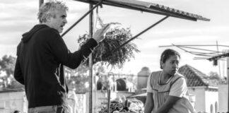 Roma Alfonso Cuarón set