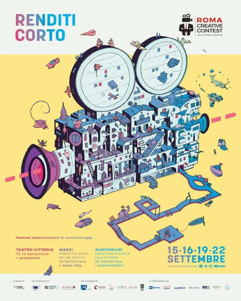 Roma Creative Contest locandina