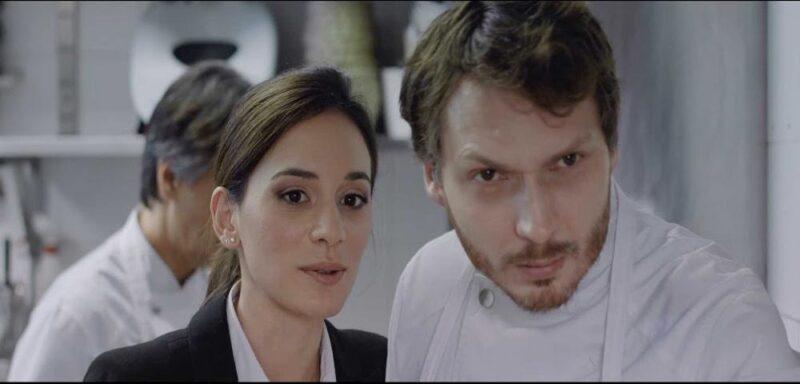 Scena di La Madeleine e lo Straniero di Alessandra Cardone