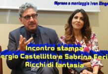 Sergio Castellitto e Sabrina Ferilli - intervista Ricchi di fantasia PS