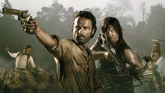 The Walking Dead 9 Rick e Daryl