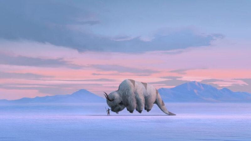Una scena di Avatar- La leggenda di Aang