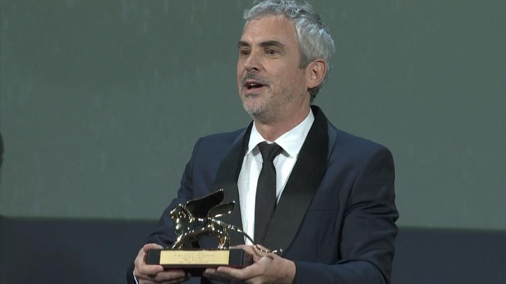 Venezia 75 – Alfonso Cuarón con il Leone d'oro per Roma