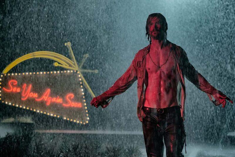 Chris Hemsworth in 7 sconosciuti a El Royale