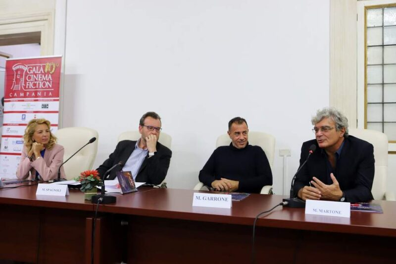 Conferenza Galà del Cinema e della Fiction in Campania