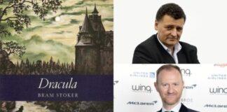 Dracula di Bram Stoker - copertina romanzo, Steven Moffat, Mark Gatiss