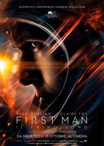 First Man - Il primo uomo locandina