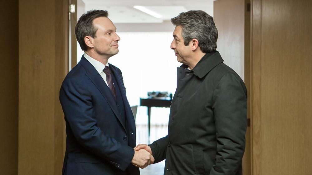 Il presidente - Christian Slater e Ricardo Darín