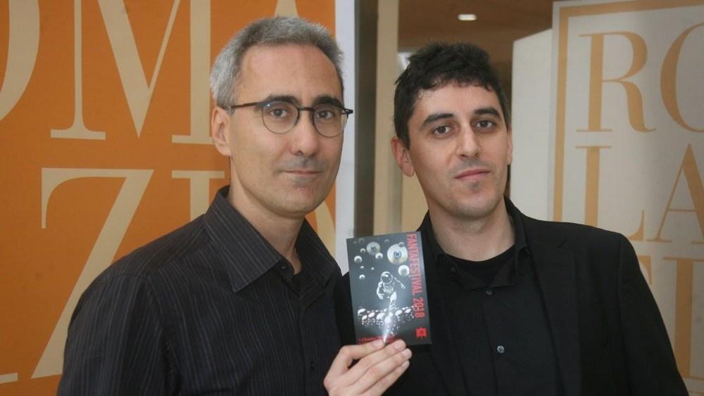 I direttori artistici del Fantafestival Marcello Rossi e Luca Ruocco