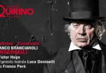 I miserabili - invito Teatro Quirino con Franco Branciaroli