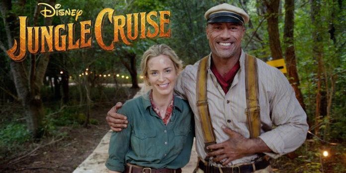 Jungle Cruise - Emily Blunt e Dwayne Johnson