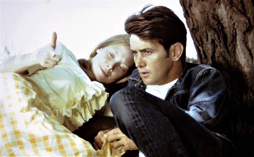 La rabbia giovane- Martin Sheen e Sissy Spacek in una scena