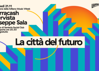 Milano Music Week 2018 - Marracash e Giuseppe Sala - banner