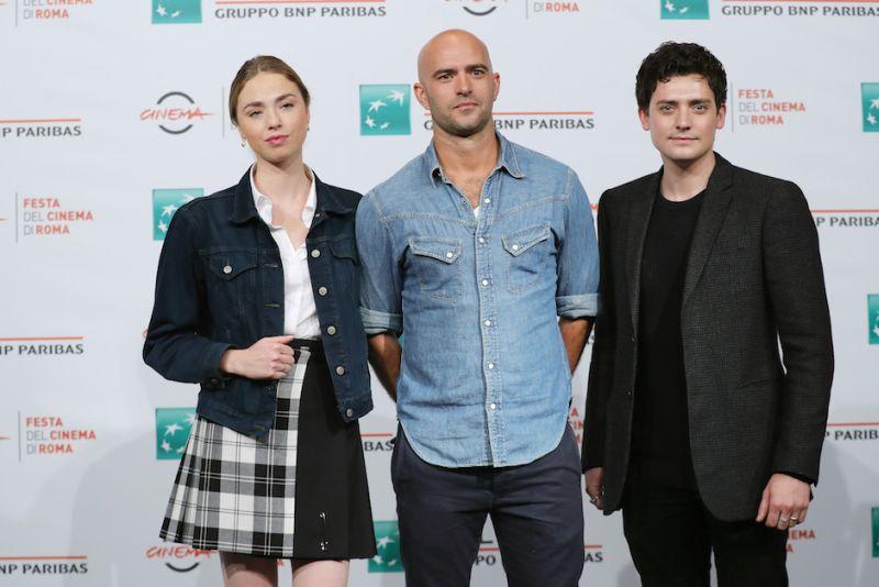 Morto tra una settimana (o ti ridiamo i soldi): Freya Mavor (Ellie), il regista Tom Edmunds e Aneurin Barnard (William) alla Festa del Cinema di Roma 2018