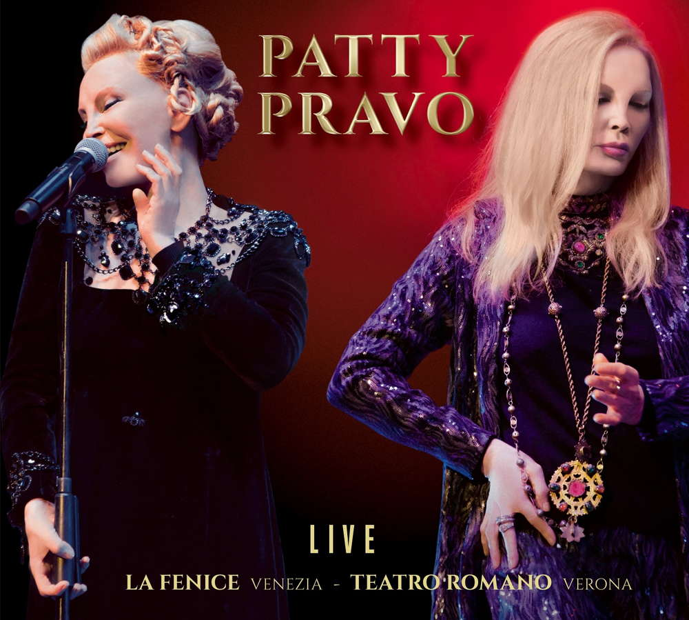 Patty Pravo Live cover