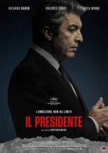 Il presidente locandina