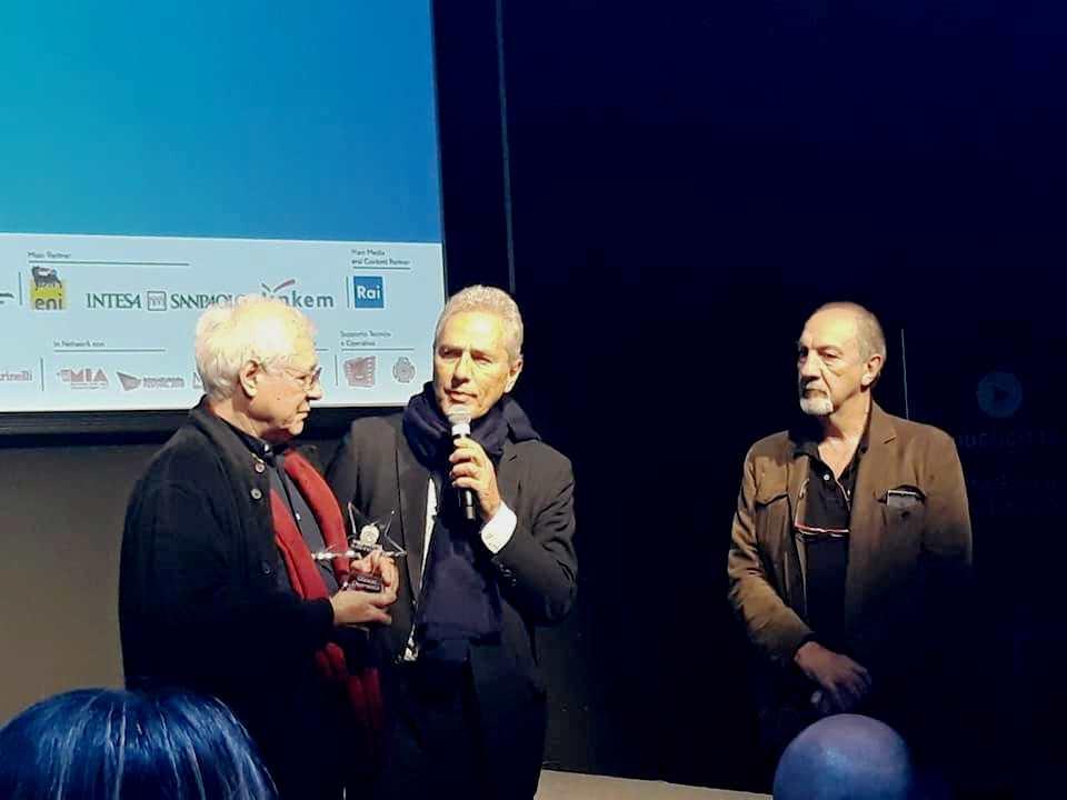 Rutelli, Decamillis e Quaranta alla premiazione de La Pellicola d'Oro