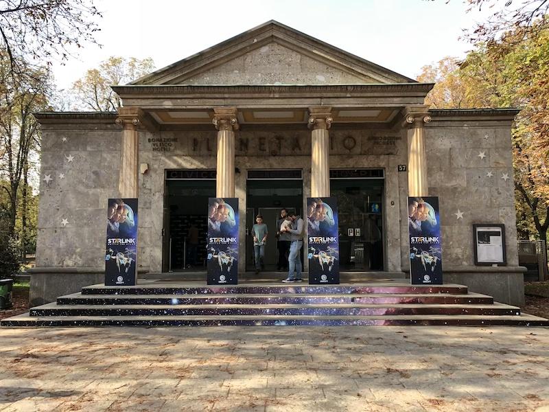 Starlink Battle for Atlas - Civico Planetario di Milano
