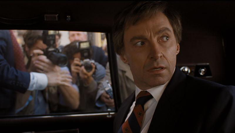 The Front Runner - Hugh Jackman in auto