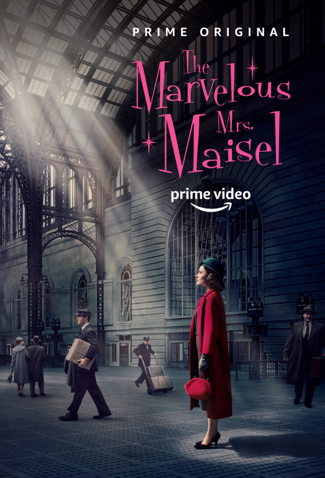 The Marvelous Mrs. Maisel (La fantastica signora Maisel) - locandina Amazon Prime Video