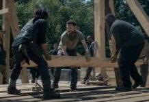 The Walking Dead - una scena dellepisodio 9x02 Il ponte