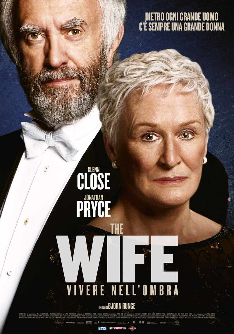 The Wife – Vivere nell'ombra locandina