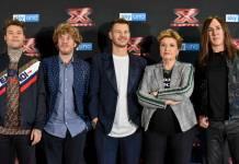 XF12 - Alessandro Cattelan e i giudici di X Factor 2018
