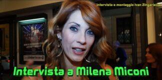 Milena Miconi - intervista Affari di famiglia