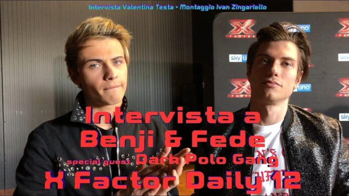 Benji & Fede - intervista X Factor Daily