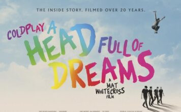 A Head Full of Dreams - locandina film Coldplay