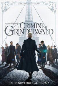 Animali fantastici - I crimini di Grindelwald - locandina