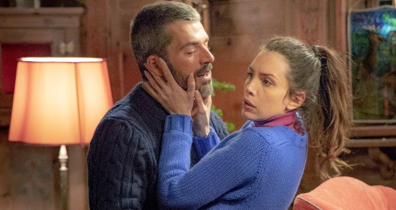 Cosa fai a capodanno?, Mirko (Luca Argentero) e Iole (Ilenia Pastorelli) in una scena del film