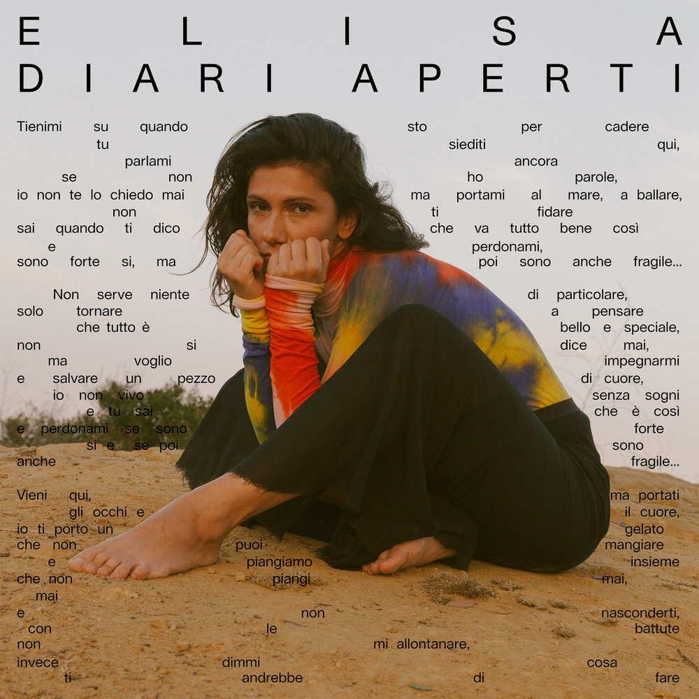 Elisa Diari Aperti cover
