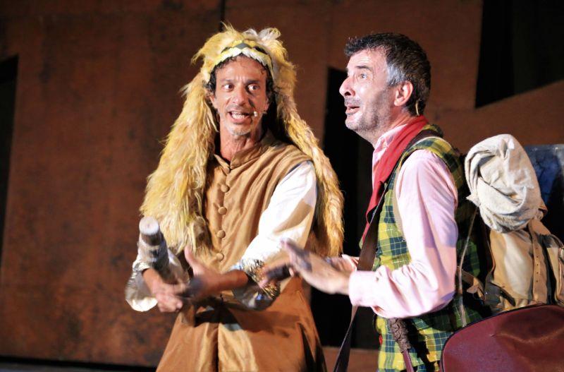 Le Rane di Aristofane: Ficarra e Picone in una scena della commedia