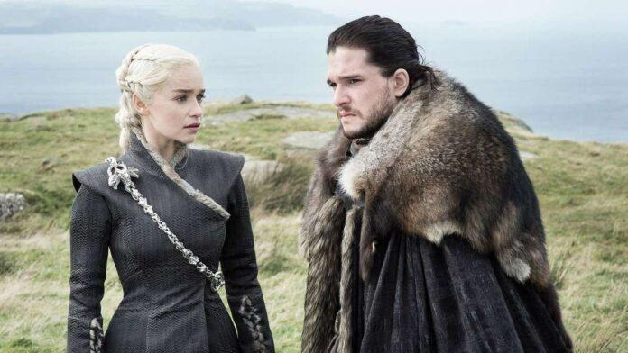 Game of Thrones - Daenerys e Jon Snow