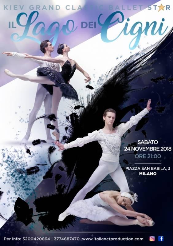 Locandina Il Lago dei Cigni - Teatro Nuovo