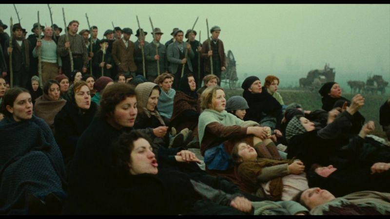 Bernardo Bertolucci, una scena di Novecento