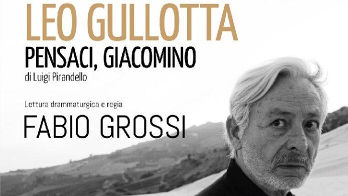 Pensaci, Giacomino! - locandina con Leo Gullotta