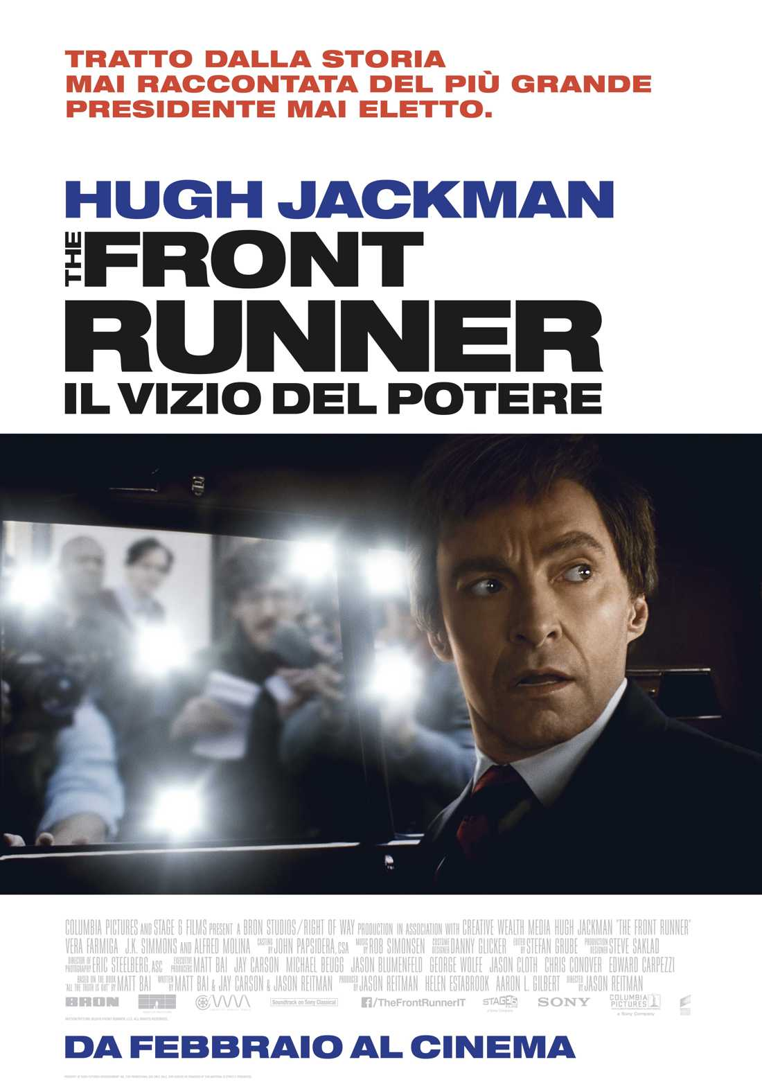 Poster ufficiale The Front Runner