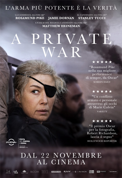 A Private War - locandina