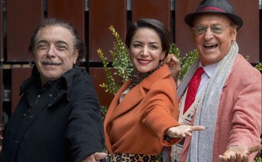 Renzo Arbore, Nino Frassica e Andrea Delogu
