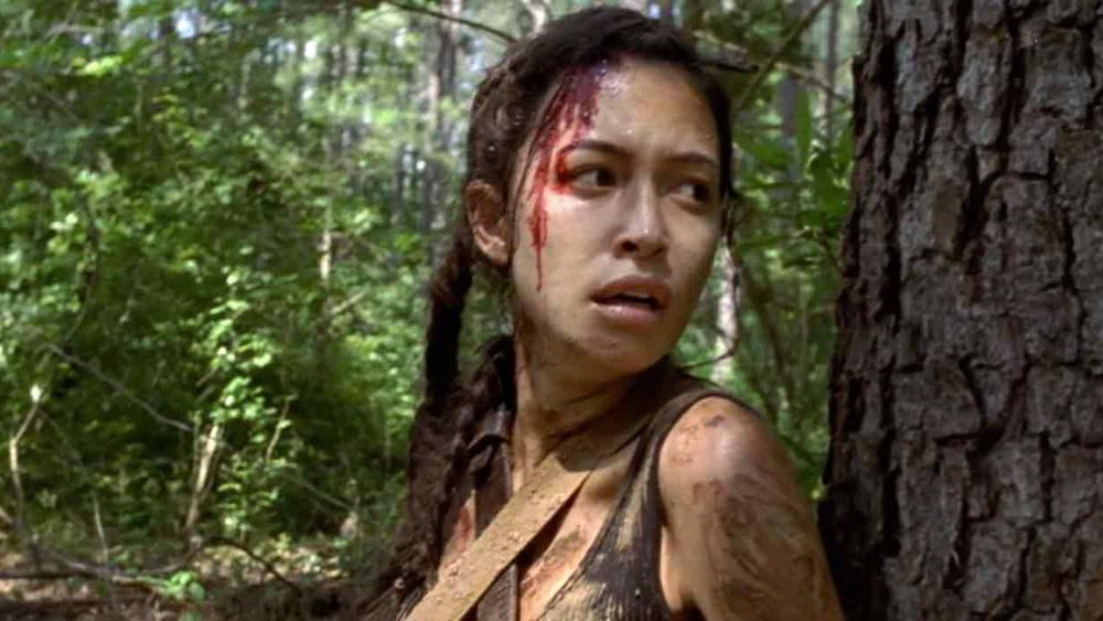 The Walking Dead 9 - Christian Serratos è Rosita