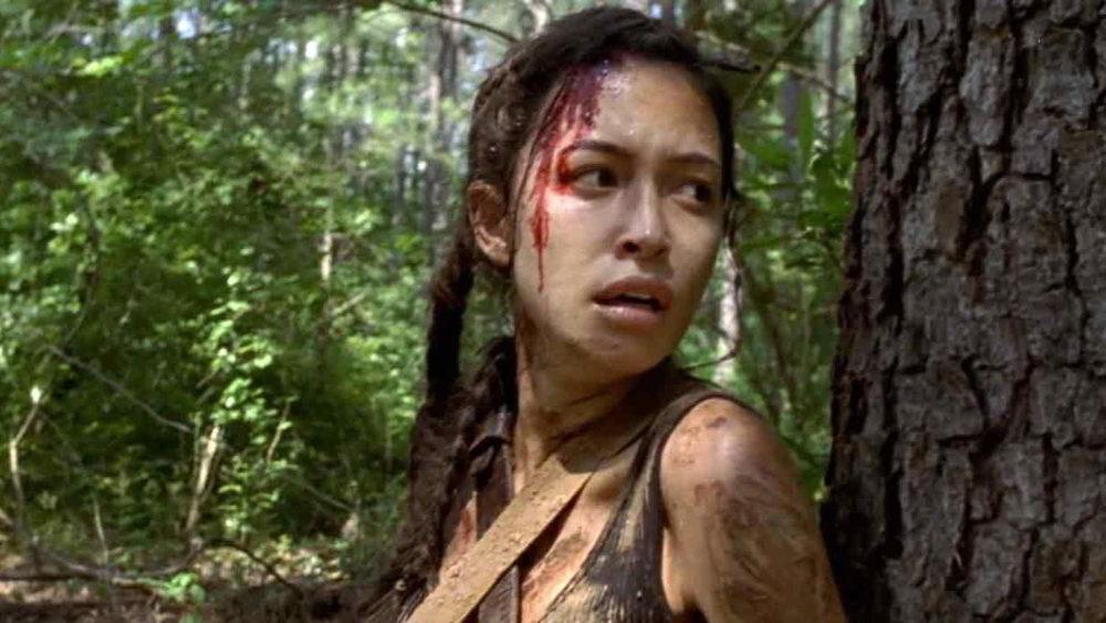 The Walking Dead 9 - Christian Serratos è Rosita