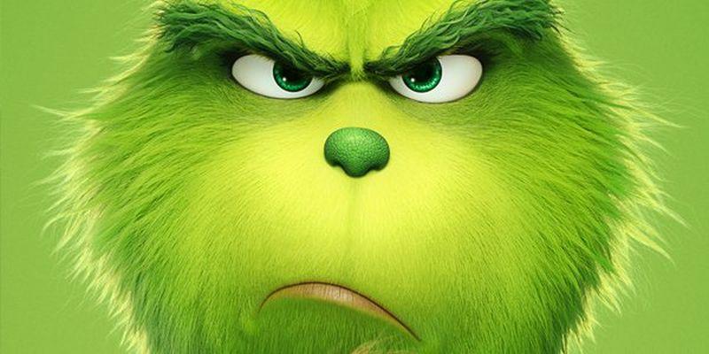 Il Grinch: pelo verde e il suo classico sguardo accigliato