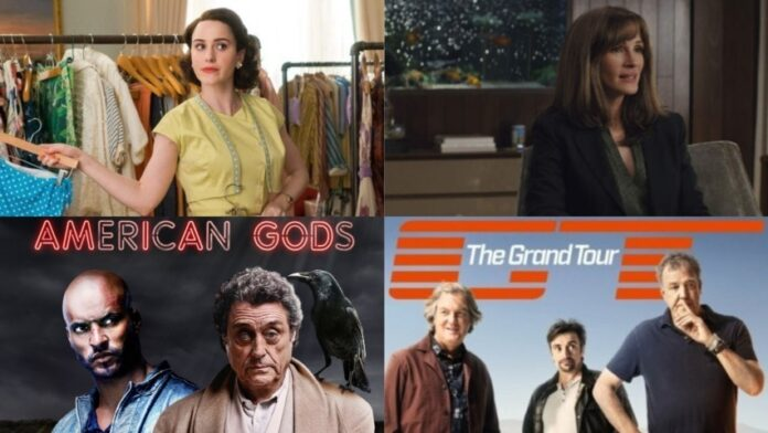 Amazon Prime Video - The Marvelous Mrs. Maisel, Homecoming, American Gods, The Grand Tour